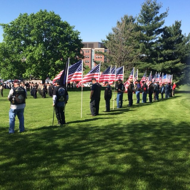 Patriot Guard Iowa Peace Officers Memorial Ceremony 05 MAY 2017